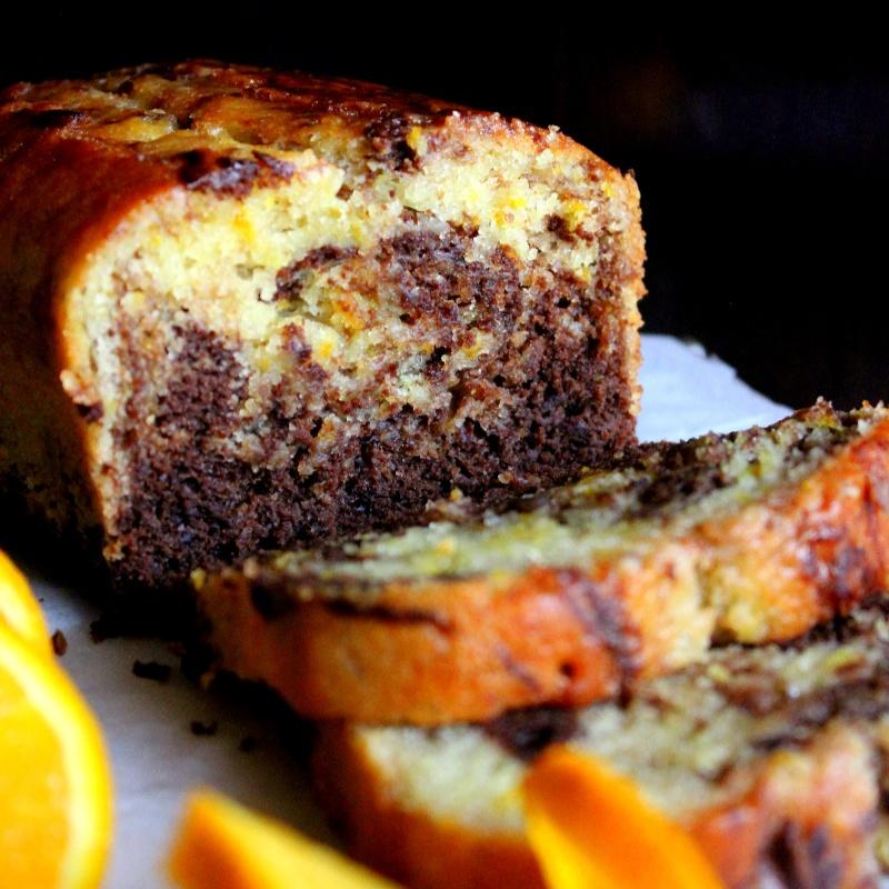 How to make Orange Chocolate Marble Cake