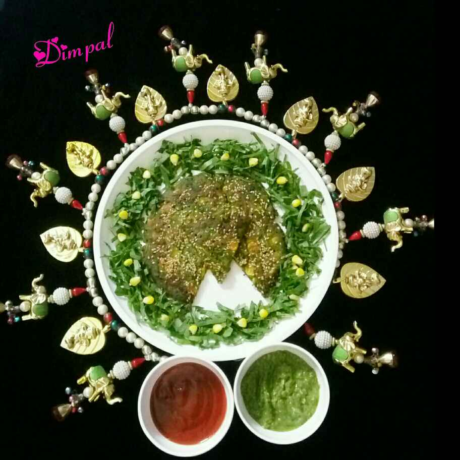 Photo of Corn Spinach Handvo by Dimpal Patel at BetterButter