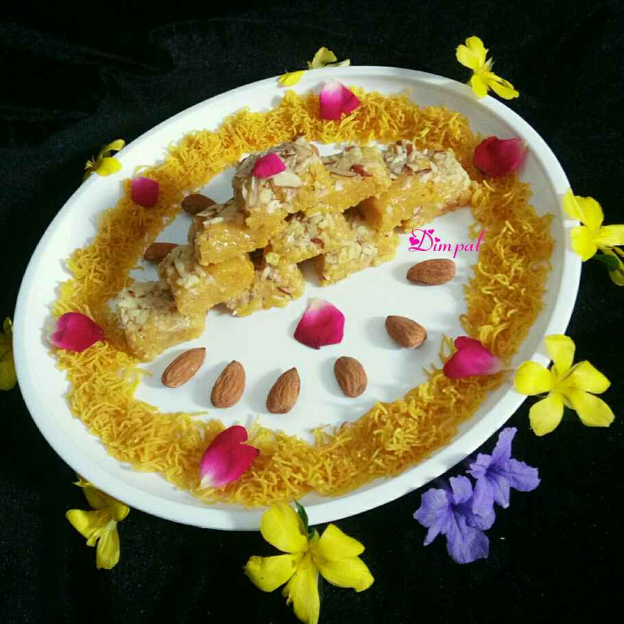 Photo of Sev Barfi by Dimpal Patel at BetterButter