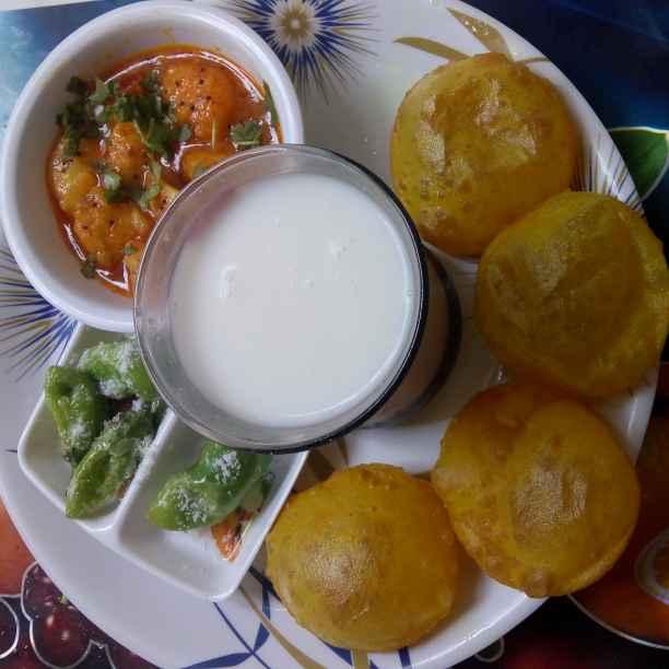 How to make મસાલા પુરી