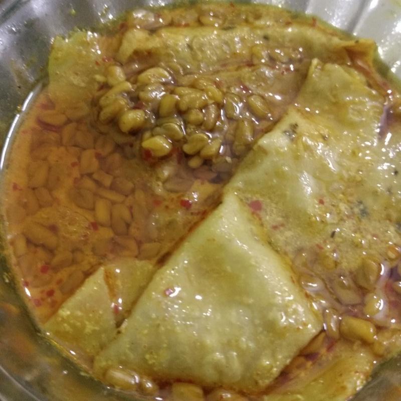 How to make Methi papad curry