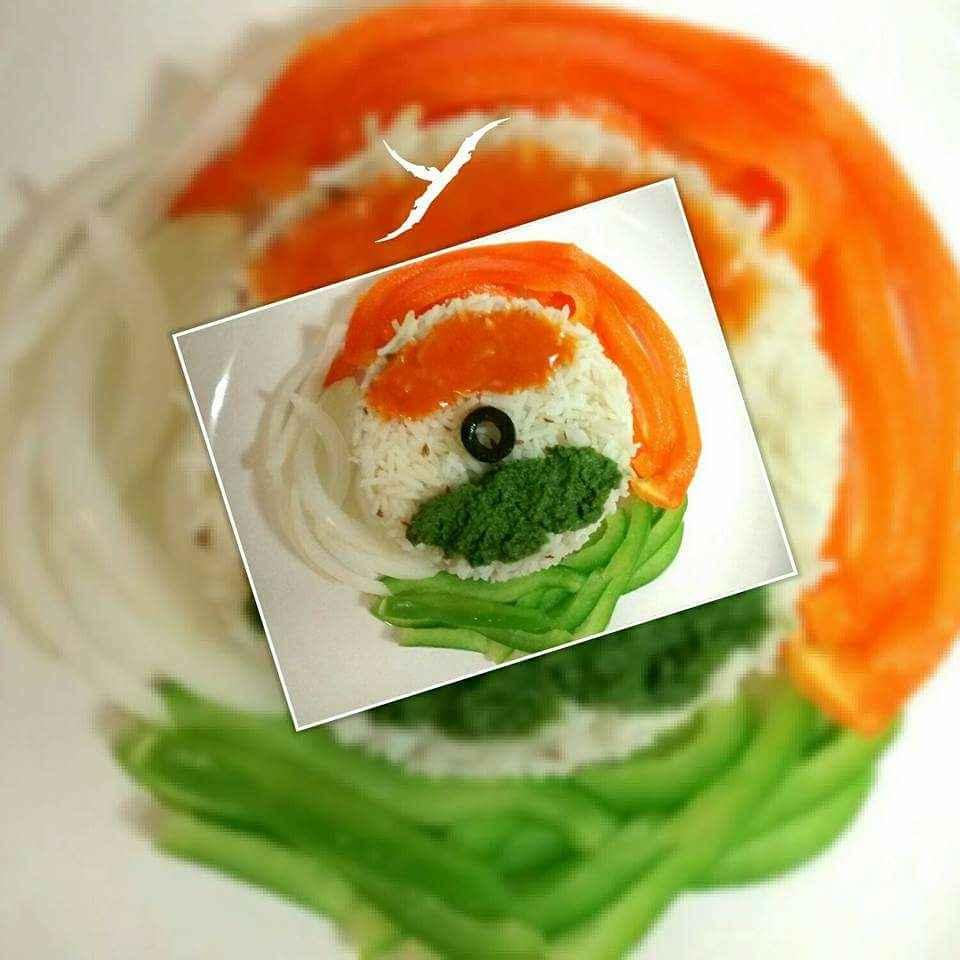 How to make Tiranga khana ,Jeera Rice with green and orange chutney