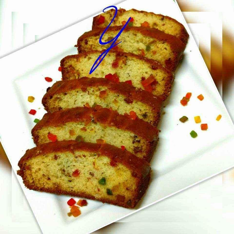 How to make Tutti futti cake