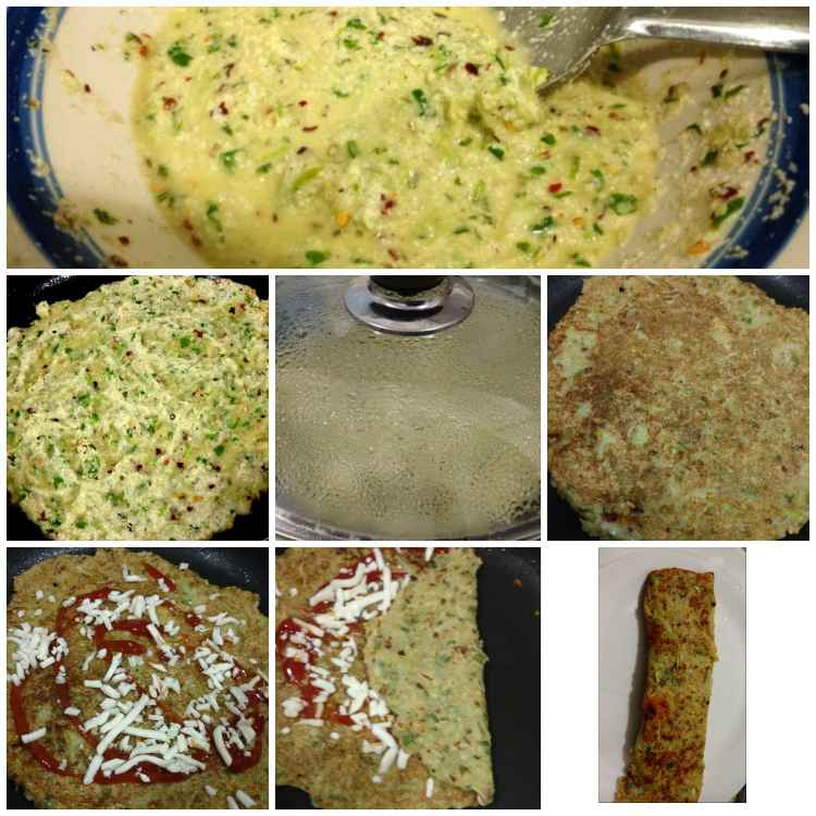 How to make Lauki Chilla ( Bottle gourd pancakes)