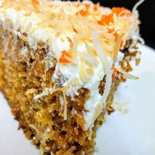 How to make Coconut and Carrots cake