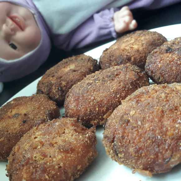 How to make Prawn cutlet