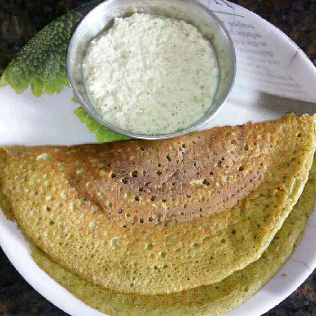 How to make Green Dosa