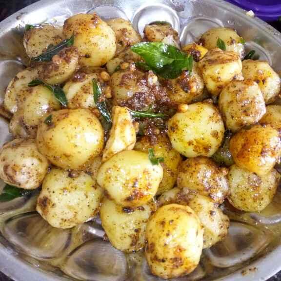Photo of Quick spicy Baby Potato by Vasuyavana  at BetterButter
