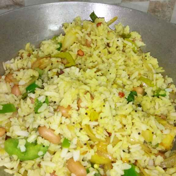 How to make Tangy Spicy Crunchy Poha