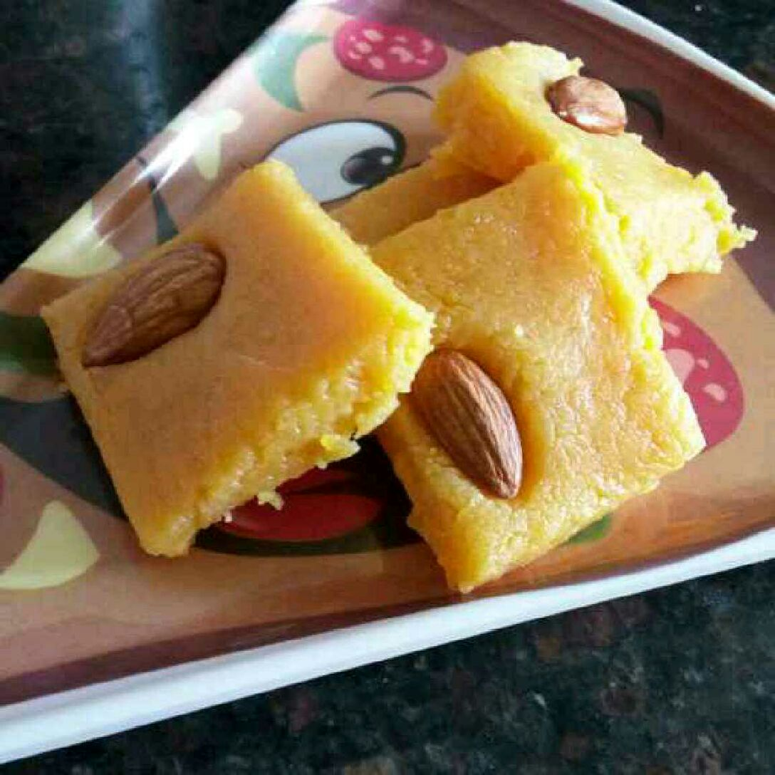 How to make Custard Katli