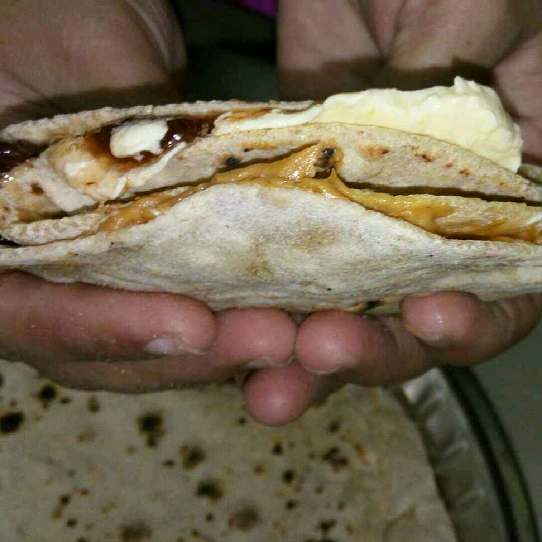How to make Roti Butter Jam