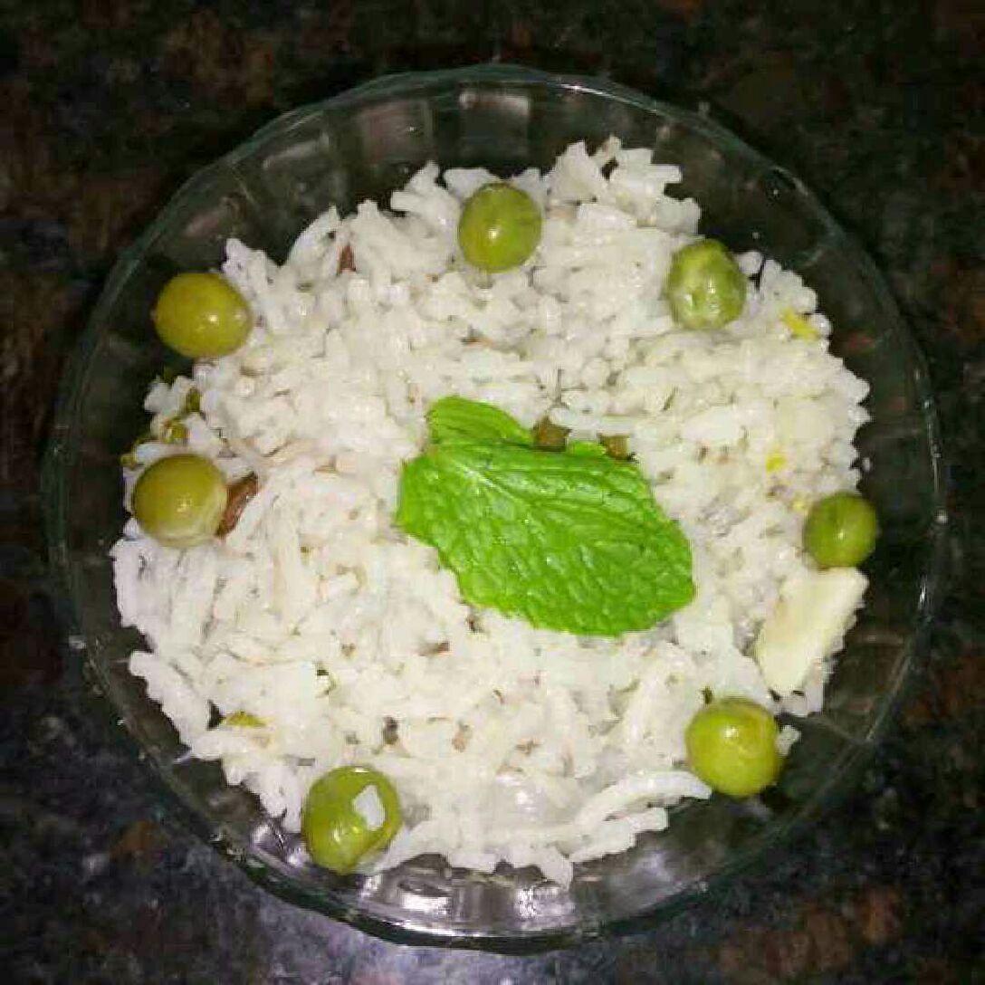 How to make Peas Pulav