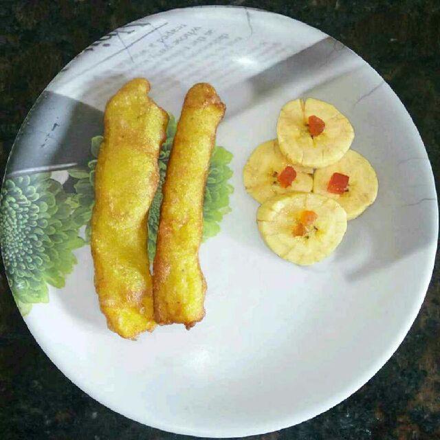 How to make Banana Fritters / Ethakka Appam / Pazham Pori