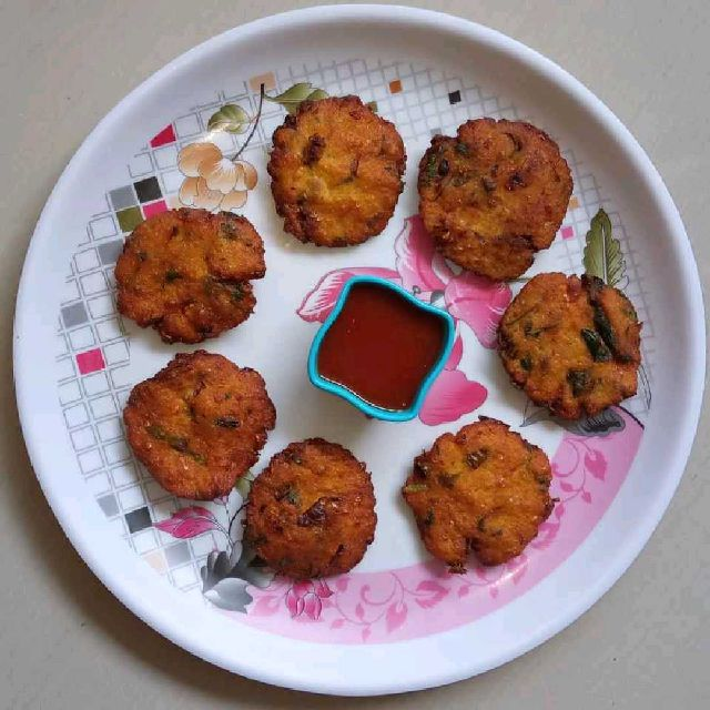 How to make Instant Crispy Corn Vada