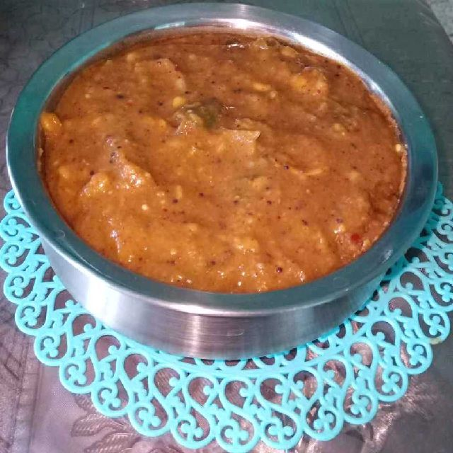 How to make Arachuvitta Sambar