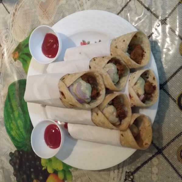How to make Chicken Mayo Wraps