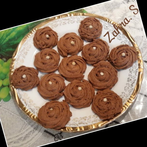 Photo of Nutella Rosette Cookies by Zahra Shaikh at BetterButter