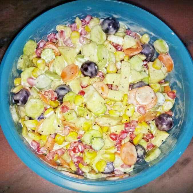 Photo of Creamy Salad by Zainab Fazeela at BetterButter