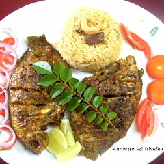 How to make Karimeen Pollichathu / Baked Pearl Spot fish
