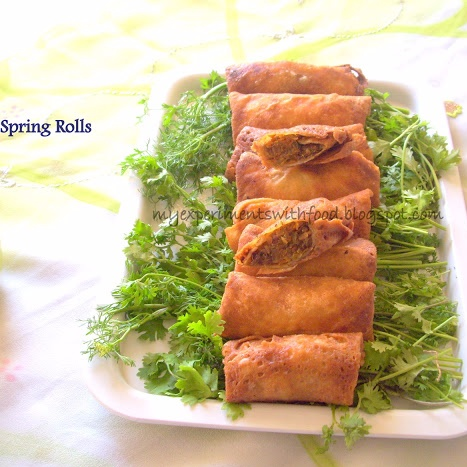 Photo of Vegetable Spring Rolls by Zareena Siraj at BetterButter