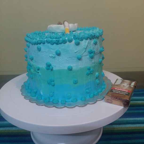 How to make Eggless Pineapple Ombre Cake