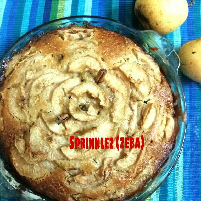 How to make Pear Cake with Honey Glaze