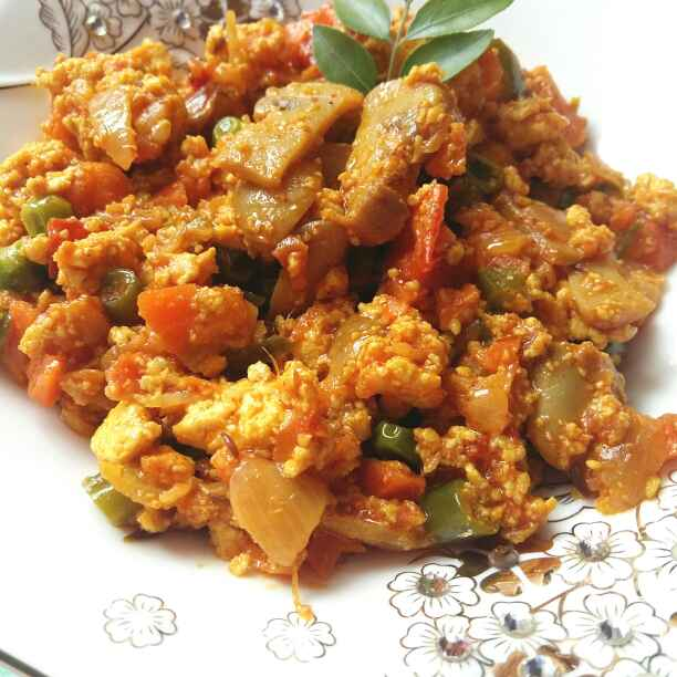 Photo of Sweet and  Sour Paneer Scramble by Zeba f lari at BetterButter
