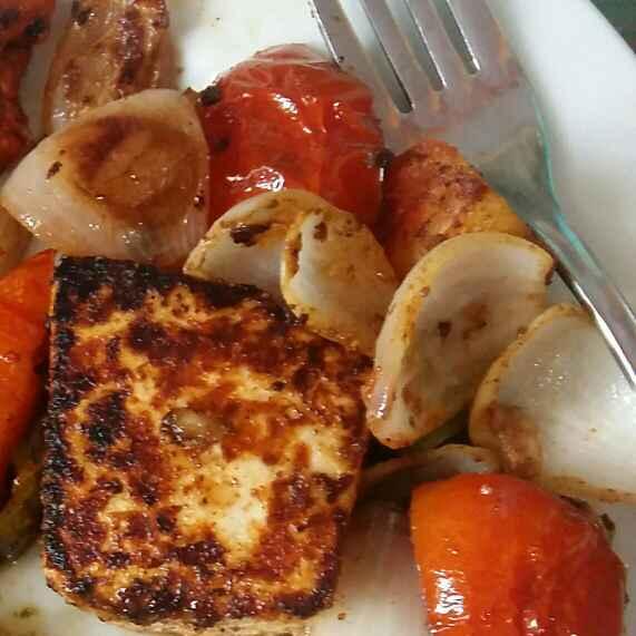 How to make Keto Pan fried paneer Tikka