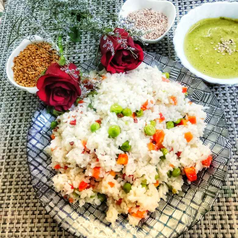 How to make Methi Khichdi with til chutney