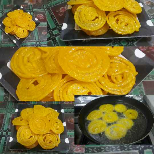 How to make Instant Jalebis (without fermentation)