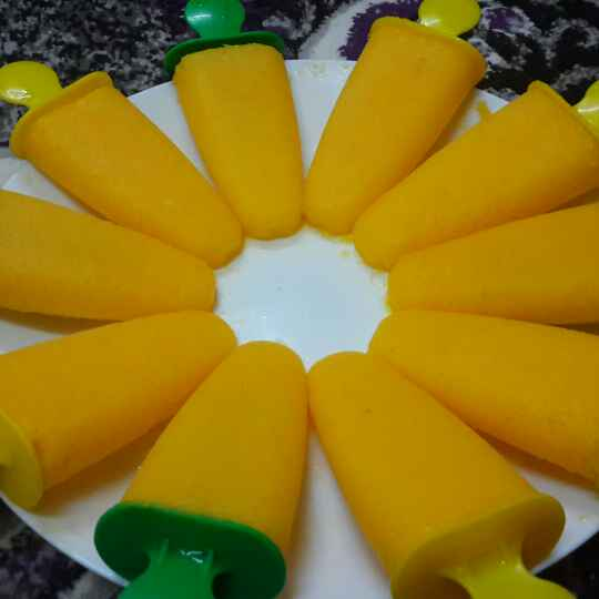 Photo of Mango Popsicles by Zeenath Muhammad Amaanullah at BetterButter