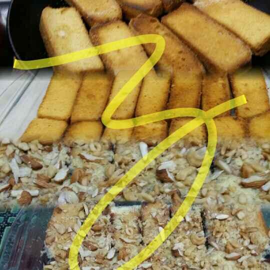 How to make Cake Rusk Shahi Tukde