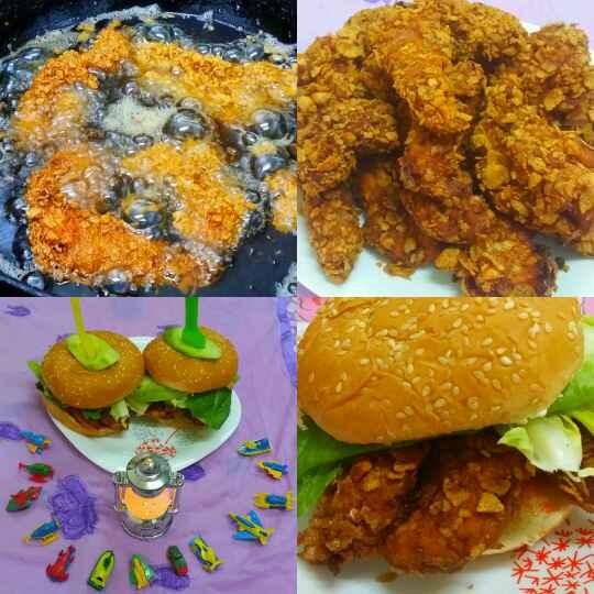 Photo of Zinger Burger by Zeenath Muhammad Amaanullah at BetterButter