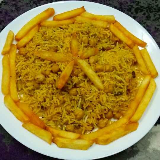 How to make Kabuli Chana Pulao