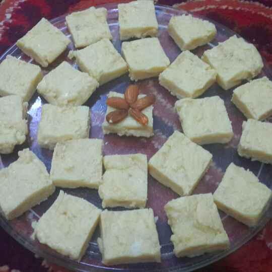 How to make Coconut/Milk Powder Barfi