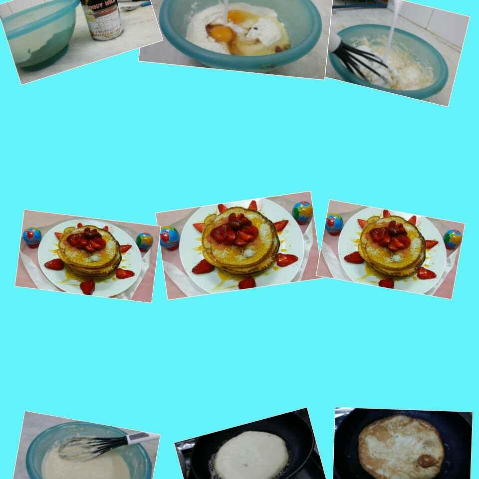 Photo of Coconut Milk Pancakes by Zeenath Muhammad Amaanullah at BetterButter