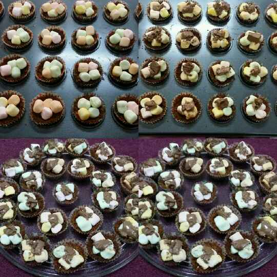 Photo of Mini S'mores Cuppies by Zeenath Muhammad Amaanullah at BetterButter