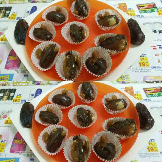 How to make Chocolate Cream Stuffed Dates
