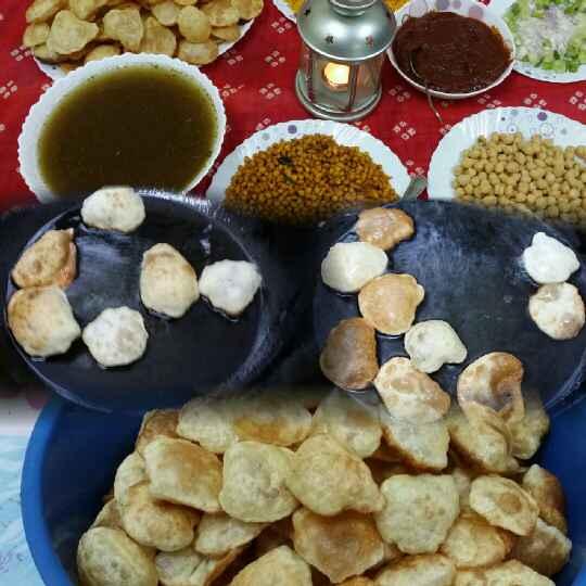How to make Pani Puri Shots......:blush::blush: