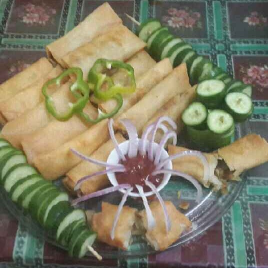 Photo of Non Veg Spring Rolls by Zeenath Muhammad Amaanullah at BetterButter