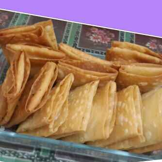 Photo of Non Veg Samosa Leaves Parcels by Zeenath Muhammad Amaanullah at BetterButter