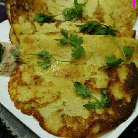 Photo of Yellow Moong Dal Dosas by Zeenath Muhammad Amaanullah at BetterButter