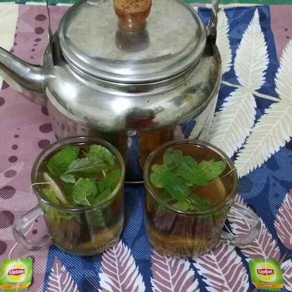 How to make Mint Green Tea