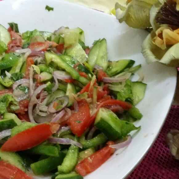 Photo of Complete Salad Curtido by Zeenath Muhammad Amaanullah at BetterButter