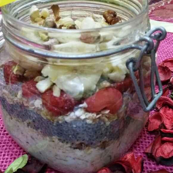 Photo of Muesli and Chia Seeds Porridge by Zeenath Muhammad Amaanullah at BetterButter
