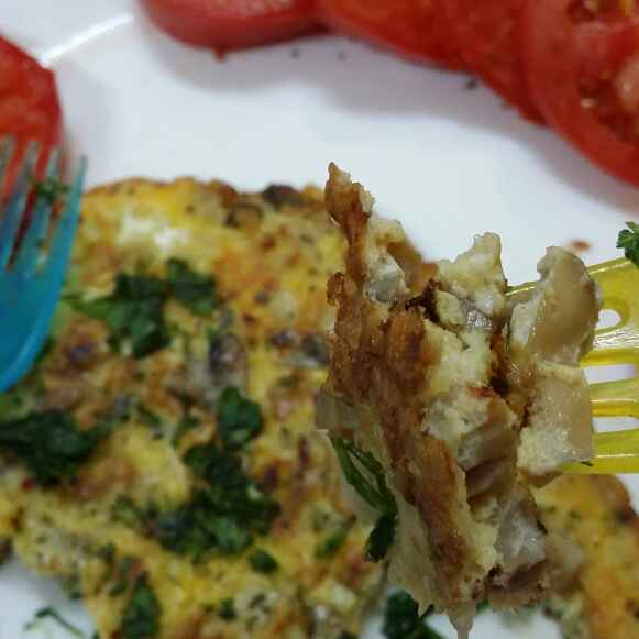 How to make Herbed Mushroom Omelette
