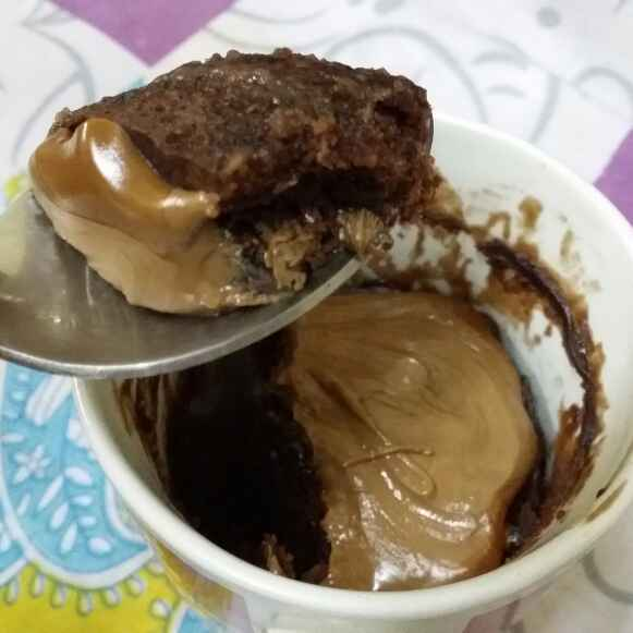 How to make Microwave Mug Cake...