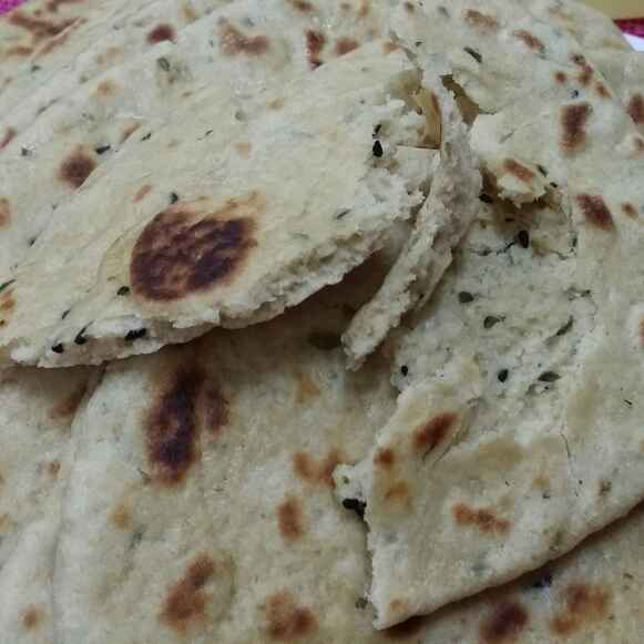 How to make Tawa Whole Wheat Methi Naan