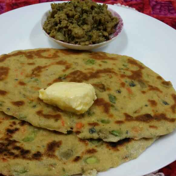 How to make Whole Wheat Veggie Naan