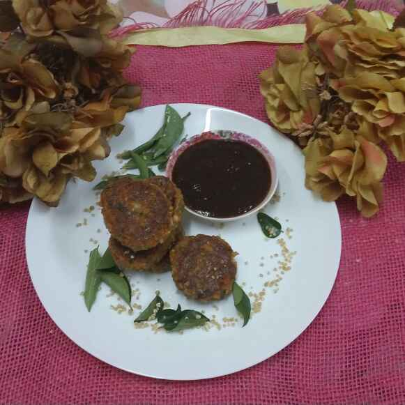 How to make Cracked Wheat and Paneer Patties